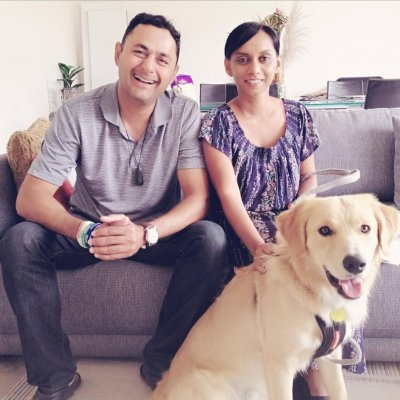 Photo for story: Dee and Amar